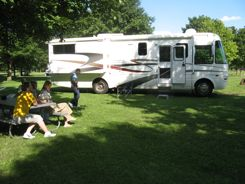 You can find RV parking in County Parks