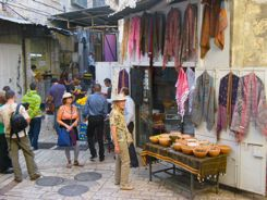 Shopping on vacation!  Jerusalem Bazaar