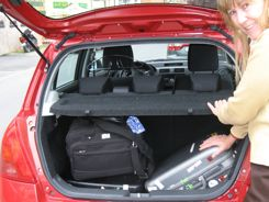 Packing for road trips- your luggage needs to fit in the car!