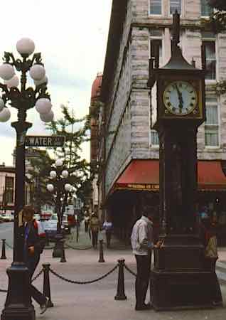 Steam Clock in Gastown Vancouver
