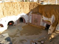 Subterranean Hotel in Matamata, Tunisia