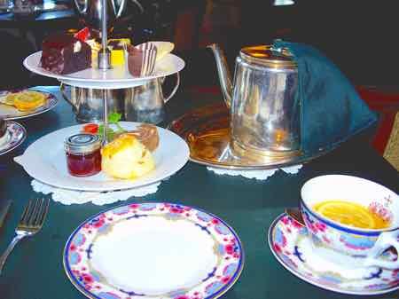 High Tea at the Empress Hotel