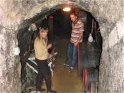 Wine Cellar in Tokay, Hungary