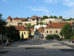 Eger Hungary with Castle