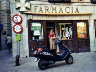 International travel health tips-Farmacia in Spain