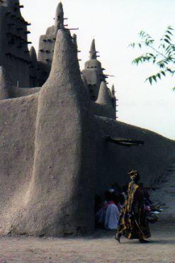 Not Timbuktu--Djenne mosque
