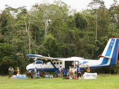 Twin Otter flies us to 16,000 feet from the Amazon over the Andes to Cusco Peru