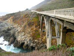 CA State Highway 1 in Big Sur