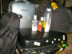 Security Packing Tips - Know the rules for liquids, creams and gels