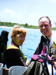 Diving Bloody Bay Wall Little Cayman Island - trying to avoid motion sickness